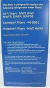 GE MWF Water Filter Cartridge