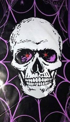 HALLOWEEN party Scene Setter Skeleton LIGHTS UP door/wall 5 ft poster skull (Halloween Party Posters)