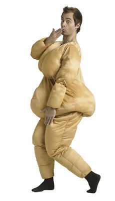 Fat Suit Costume - Adult Funny Halloween Accessories