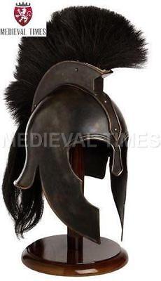 Troy Achilles Armor Helmet Medieval Knight Crusader Greek Spartan Helmet Gift - Greek Spartan Armor