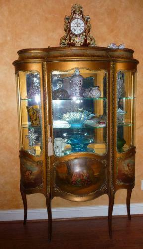 French Curio Cabinet Ebay