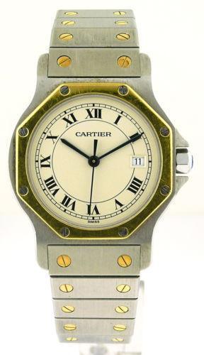 Cartier Santos Mens Watch Ebay
