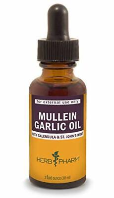 Natural Garlic Oil Drops w/ Calendula for Ear Infection & Pain Relief (1oz) Garlic Oil Ear Infections