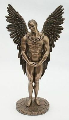 Male Angel Figurines (Male Nude Angel Winged Sculpture Statue Figurine - New in Box )