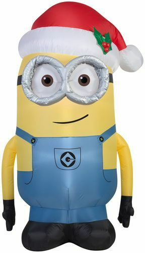 Brand Christmas Inflatable Dave Minion - 3 Feet Tall