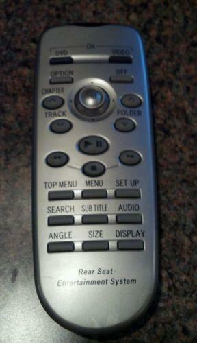 toyota sienna dvd remote ebay. Black Bedroom Furniture Sets. Home Design Ideas