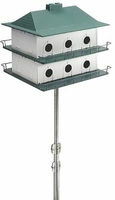 NEW PURPLE MARTIN BIRD HOUSE HEATH PH-12 12 APARTMENT LARGE HOUSE NEW 6061600