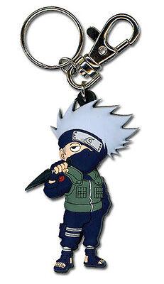 **License** Naruto Shippuden PVC Keychain SD Kakashi of the Sharingan #36695
