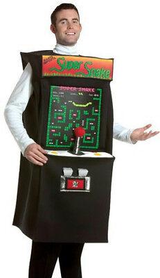 Super Snake Arcade Game Adult Costume - Serpent Costume