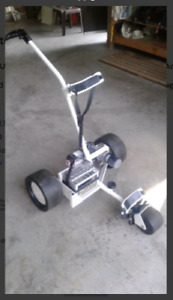 NEW PRICE Highland powered golf caddy