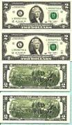 2 Dollar Bill Uncirculated