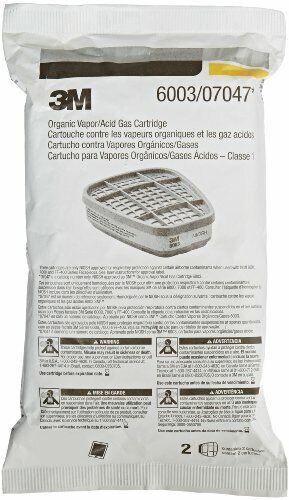 3M 6003 Organic Vapor/Acid Gas Replacement Cartridge, Various Package Quantities Business & Industrial