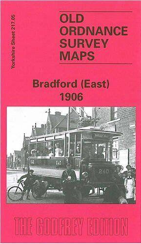 MAP OF BRADFORD (EAST) 1906
