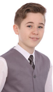 Boys-Grey-Suit-Cheap-5-Piece-Wedding-Usher-Christening-Party-Age-1-15-Years-BNWT