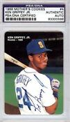 Ken Griffey Jr Autographed Rookie Card