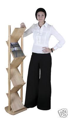 Bamboo Folding 6-holder Literature Rack - Green Product
