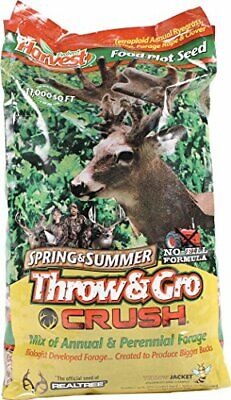 Deer Attractant Food Plot Seed Mix BEST for Spring & Summer Planting