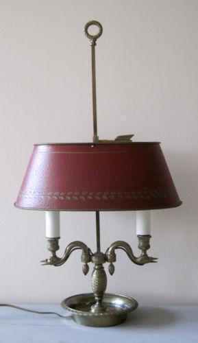 Vintage Stiffel Lamps >> French Bouillotte Lamp | eBay