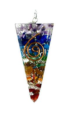 Kegelanhänger für Orgon-Energie Regenbogen Feng Shui Dekoration Talisman