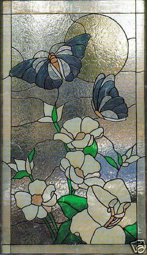 Faux Stained Glass Window Treatments Amp Hardware Ebay