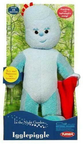 talking iggle piggle  other tv character toys
