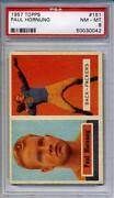 1957 Topps Football Cards PSA 8
