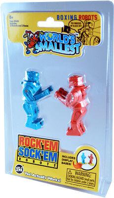 World's Smallest: Rock 'Em Sock 'Em Robots [New Toy] Toy