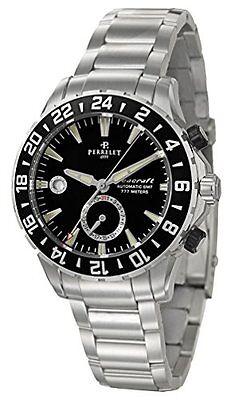 NIB Perrelet Seacraft GMT (2nd Timezone) w Bracelet, A1055B, MSRP:$6900, 10+ Pic
