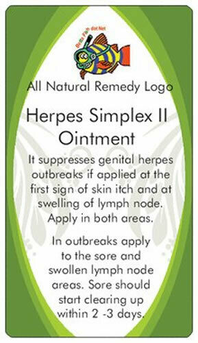 Herpes Simplex 2 Ointment helps stops outbreaks clearing up sores within 2 days