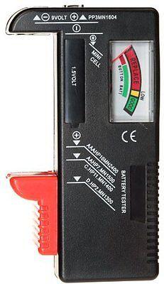 New Universal Battery Tester AA/AAA/C/D/9V Button Cell Volt Tester # BT20