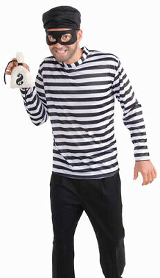 Adult Burglar Outlaw Thief Halloween Costume (Halloween Burglar Costume)