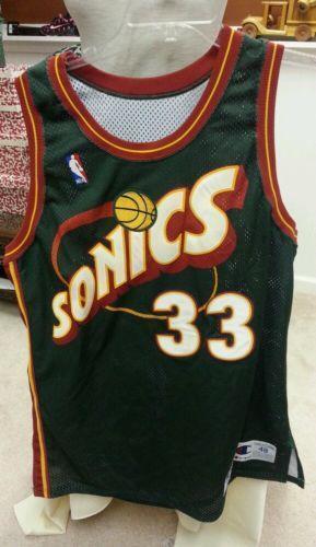 sonics jersey basketballnba ebay
