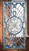 Antique Beveled Glass Window