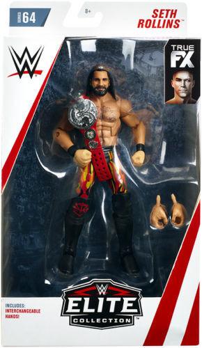 WWE Mattel Seth Rollins Elite Series #64 Figure