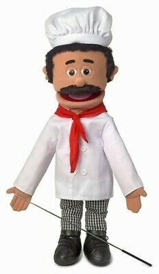 Silly Puppets Chef Luigi 25 inch Full Body Puppet