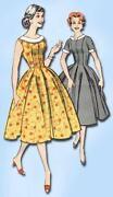 1950s Party Dress Pattern