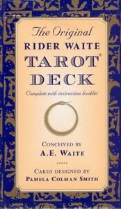 The Original Rider Waite Tarot Deck (CARDS)  - Booklet Included - FREE DELIVERY!