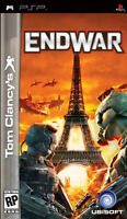 Tom Clancy's End War - PSP Game - NEW. Sealed.