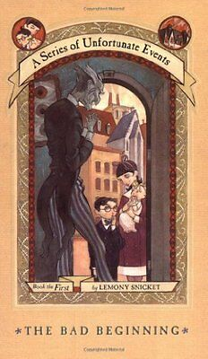 The Bad Beginning  A Series Of Unfortunate Events  1  By Lemony Snicket