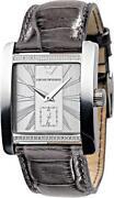 Ladies Armani Watch Leather Strap