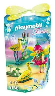 Playmobil 9138 Collectable Fairy Girl with Storks Kids Playset Toy