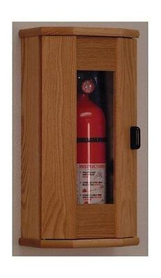 Wooden Mallet Fire Extinguisher Cabinet - 5 Lb. Capacity Light Oak Fec11lo New