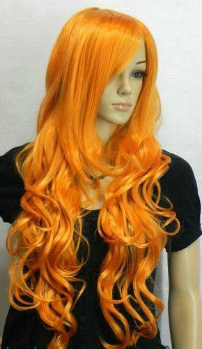 Orange Wig Ebay 7