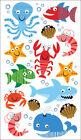 Sea Life Scrapbooking Stickers