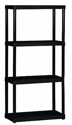 Gracious Livin 4 Shelf Light Duty Plastic Shelves Units For