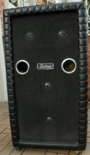 vintage guitar cabinet ebay. Black Bedroom Furniture Sets. Home Design Ideas
