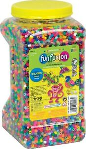 Perler Beads 22,000 Count Bead Jar Multi-Mix Colors, Free Shipping, New