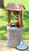 Solar Garden Water Feature