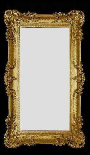 wandspiegel gold 96x57 antik spiegel barock rokoko prunkvoll retro renaissance eur 79 90. Black Bedroom Furniture Sets. Home Design Ideas