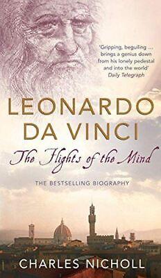 Charles Nicholl, Leonardo Da Vinci: The Flights of the Mind, Very Good, Paperbac